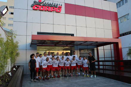 Ídolo do futsal esteve com sua equipe treinando em academia de São José dos  Pinhais 98a9ccc71a69e